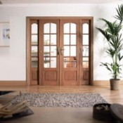 Interior Hardwood Room Dividers