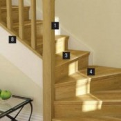 Oak Stair Parts
